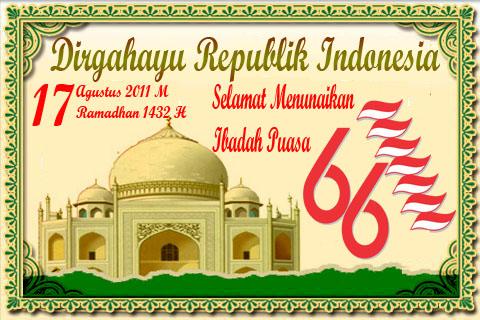 17 Ramadhan 17 Agustus
